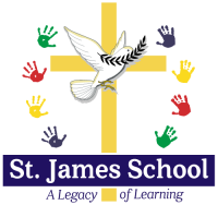 st james catholic school mcminnville oregon logo